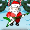 Santa Rock Star 2 Metal Xmas
