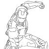 Раскраска - Железный человек